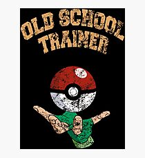 Old school trainer Photographic Print