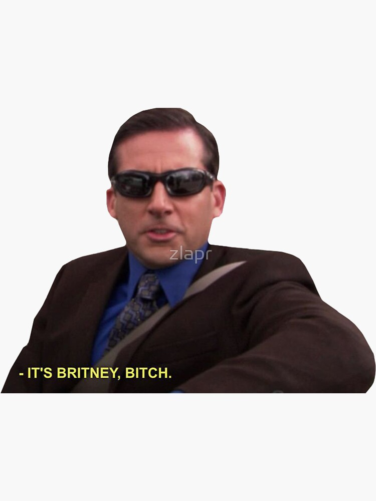 Michael Scott - It's Britney Bitch  by zlapr