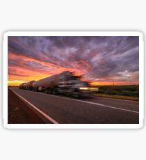 Outback Road Train Sticker
