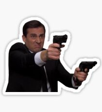 Michael Scott - Michael Scarn Double Agent  Sticker