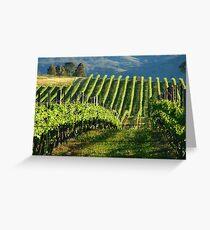 Mudgee Vineyard Greeting Card