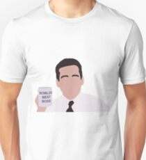 Michael Scott Minimal - World's Best Boss  T-Shirt