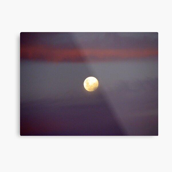 Dusky Moon Metal Print