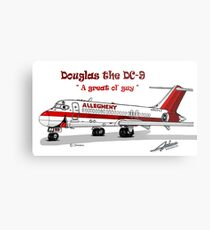 Allegheny Airlines DC-9 Metal Print