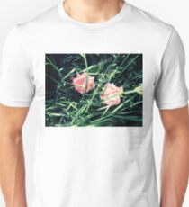 contrasty pink roses with weeds 04/27/17 Unisex T-Shirt