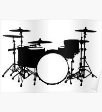 Percussion Instrument Poster Set Marimba Player Gift Percussion Section Wall Art