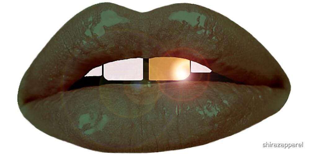 Tattoo Lips by shirazapparel