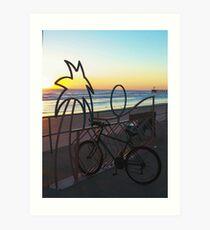 lets ride Art Print