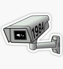 CCTV - George Orwell 1984 Sticker