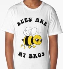 Bees Are My Bros Long T-Shirt
