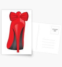 Red Heels Postcards