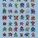 MegaMan 1to6 Robotermeister von DukeJaywalker