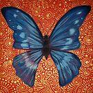 Blue Butterfly by Cherie Roe Dirksen