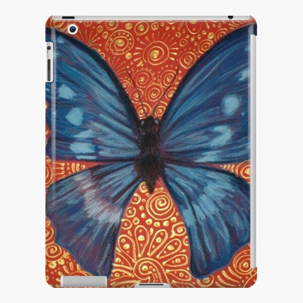 Blue Butterfly iPad Snap Case