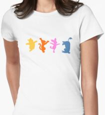 Winnie the Pooh  |  Happy Prints Women's Fitted T-Shirt