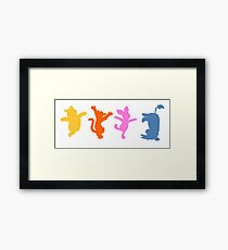 Winnie the Pooh     Happy Prints Framed Print