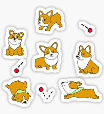 Cutest Corgis Compilation  Sticker