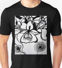 Flower BW Unisex T-Shirt