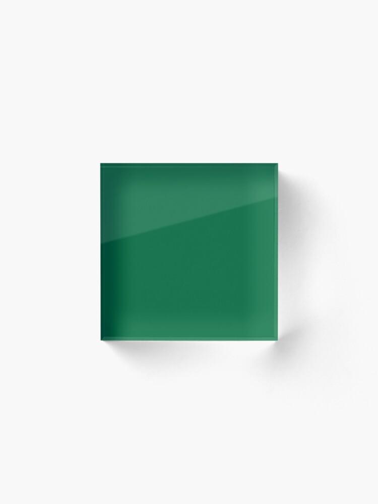 Alternate view of Cadmium Green Acrylic Block