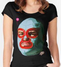 EL LUCHADOR EXTRAORDINAIRE Women's Fitted Scoop T-Shirt
