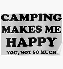 Camping Quotes Funny Funny Camping Quotes Posters | Redbubble Camping Quotes Funny