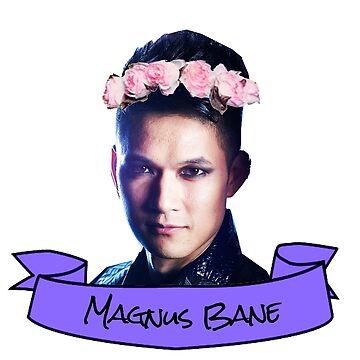 magnus flower crown sticker by lunalovebad