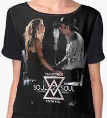McGraw With Faith Hill soul2soul tour 2017 65 Women's Chiffon Top