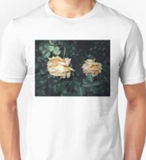 two contrasty peach roses 04/27/17 Unisex T-Shirt