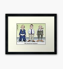 The Ascent of Trousers Framed Print