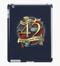 42 iPad Case/Skin