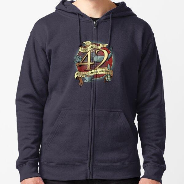 42 Zipped Hoodie