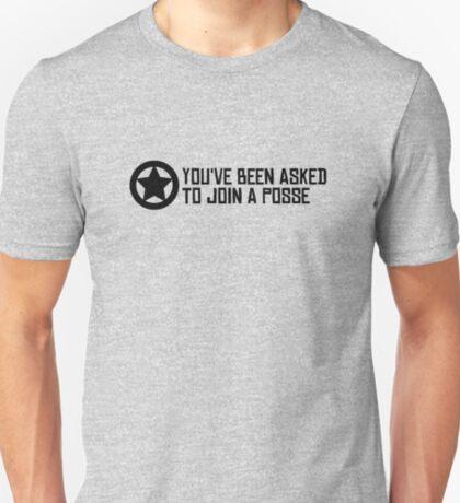 Posse - Black text. T-Shirt