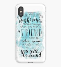 You Will Be Found- DEH iPhone Case/Skin