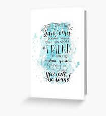 You Will Be Found- DEH Greeting Card