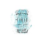 You Will Be Found- DEH by bwaycalligraphy