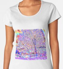 Psychedelic Sunset Women's Premium T-Shirt