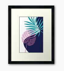 Tropical Pattern Framed Print