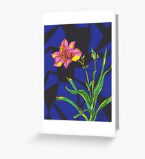 The Healing Lily Greeting Card