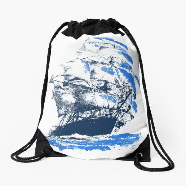 Black Sails Drawstring Bag