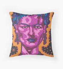 The Inspiration of Frida Kahlo Throw Pillow