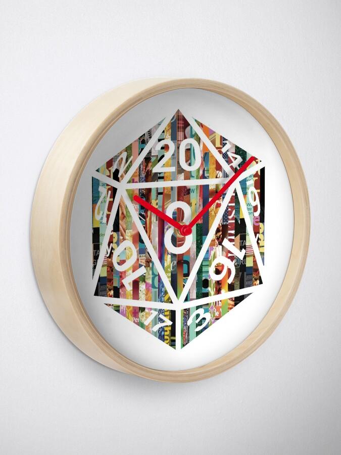 Alternate view of D20 Clock