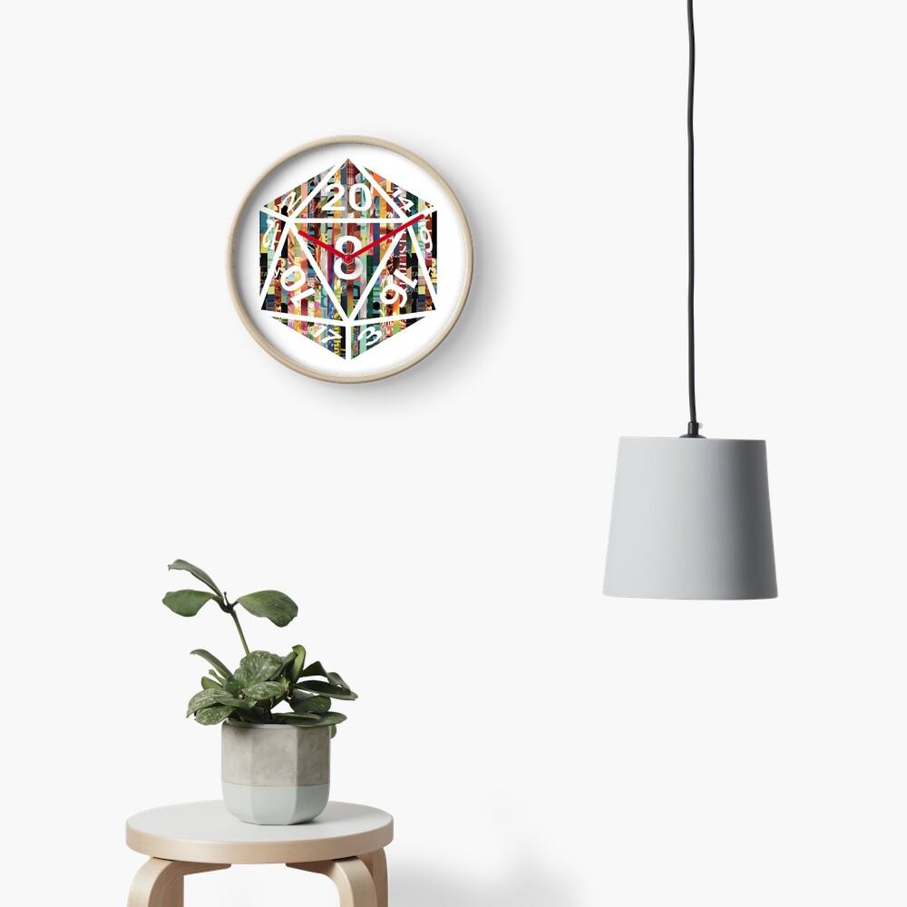 D20 Clock