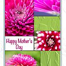 Happy Mother's Day Chrysanthemums And Dahlia by daphsam