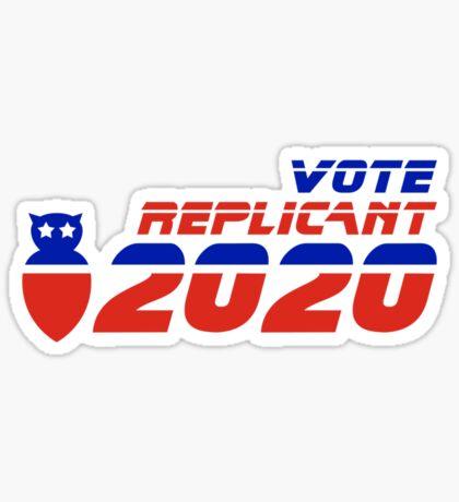 Vote Replicant 2020 Sticker