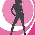 retrogirl pink by Micheline Kanzy