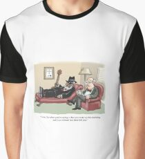 Bluesman in Therapy Graphic T-Shirt