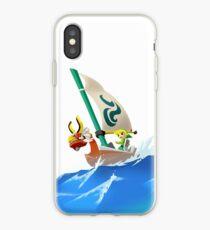 Vinilo o funda para iPhone La leyenda de Zelda: The Wind Waker - Vela Vector