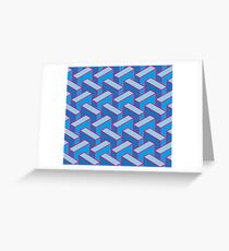 Blue Meanies Greeting Card