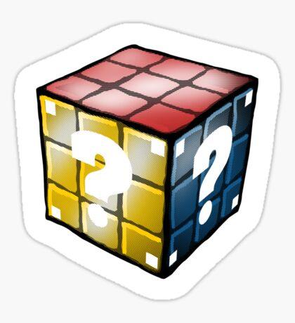 Rubiko's Question Cube Sticker