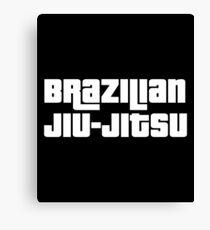 Brazilian Jiu Jitsu (BJJ) Canvas Print